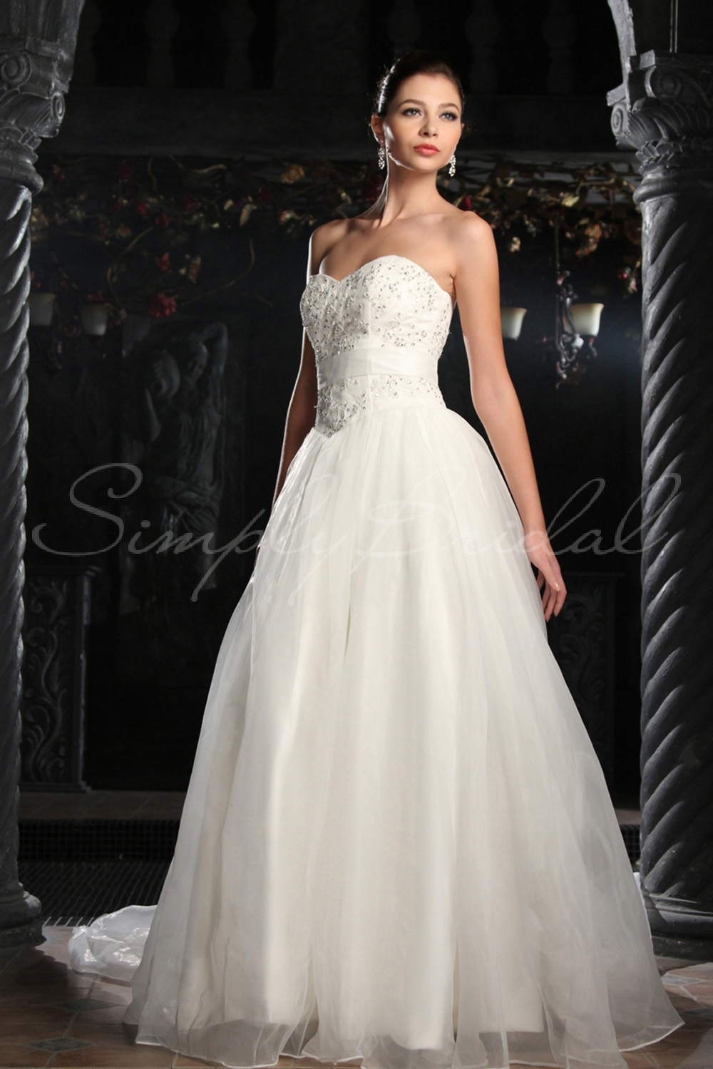 Wedding choosing the dress via simply bridal fabellis for Simply be wedding dresses