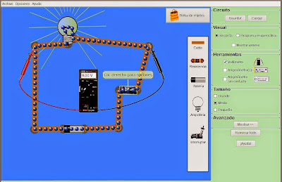 http://phet.colorado.edu/es/simulation/circuit-construction-kit-dc