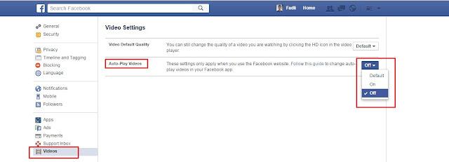 Cara Mematikan Auto Play Otomatis di Facebook Pada PC dan Laptop_Masnatel