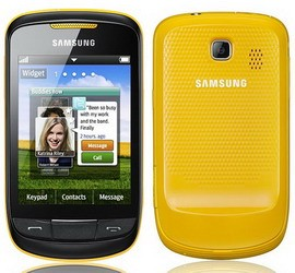 Samsung Corby II (GT-S3850) officially announced