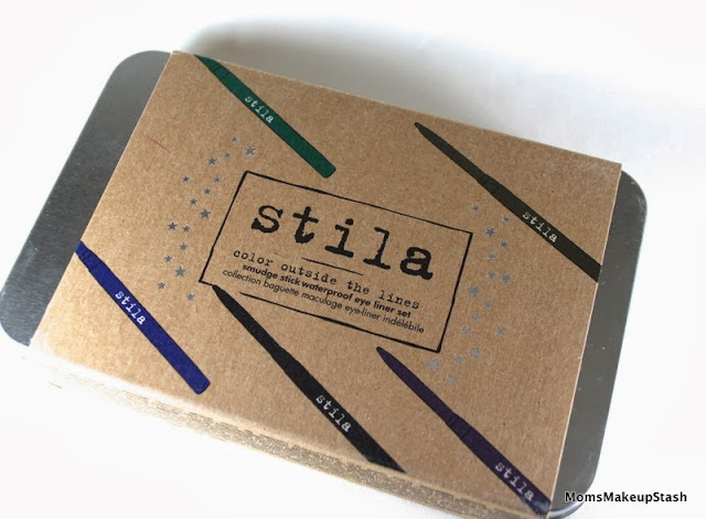 STILA Eye Liners, Stila Smudge Sticks, Stila Color Outside The Lines Smudge Stick Waterproof Eye Liner Set, Stila Liner Swatches