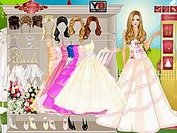 Váy cưới quyến rủ, game ban gai