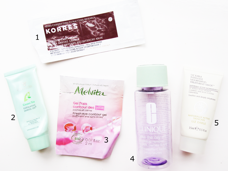 5 Mini Reviews: Korres, Ginvera, Melvita, Clinique & Liz Earle