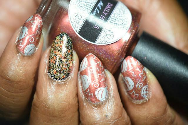 Pumpkins, Leaves, & Glitter - Stamping Saturdays #8
