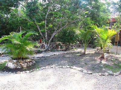 jardin Tulum isla central antes