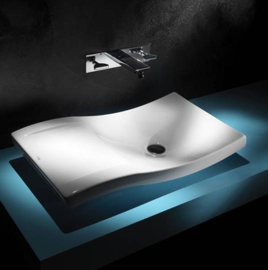 Ederson Amorim Acabamentos e Design -> Cuba Para Banheiro De Apoio Urbi Branca Roca