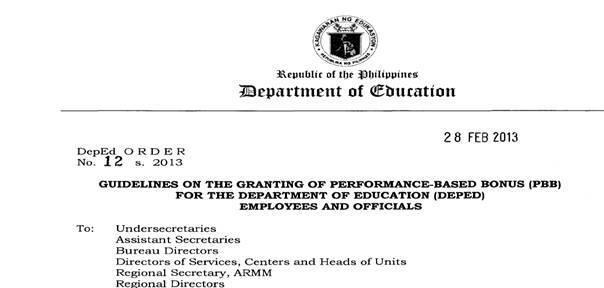 the failures of performance based bonuses for teachers Public school teachers called on the department of education (deped)  the  months-long delay in the release of their performance-based bonus  among  those he cited as reason was the failed bidding that resulted in the.