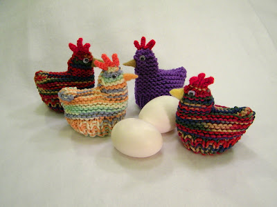 Knitted Chick Egg Cosy Pattern : Delights-Gems: Easter Egg Cozies