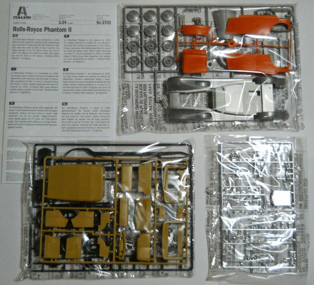 italeri rolls-royce phantom-II