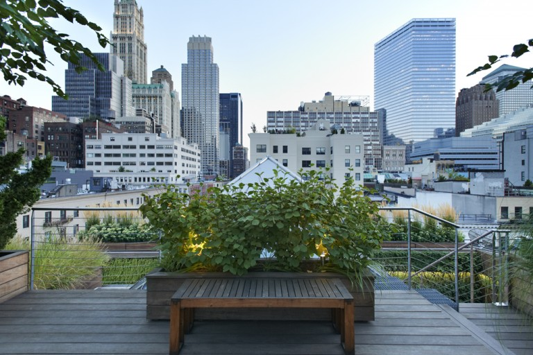 New York Rooftop Gardens by Charles de Vaivre
