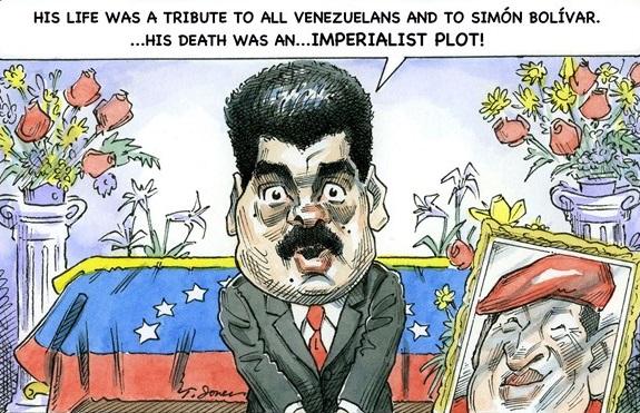 Maduro Political Cartoon, chavez political cartoon, political cartoon