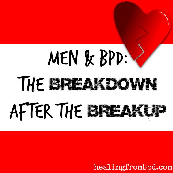 Men and breakups