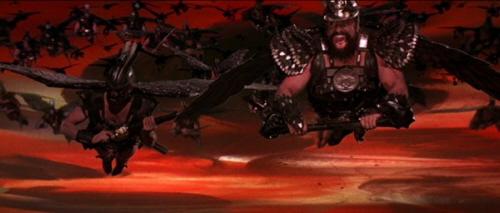 Flash Gordon Movie Flying