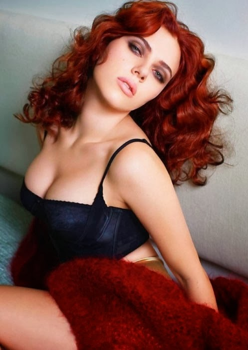 scarlett johansson red hair sexy tumblr