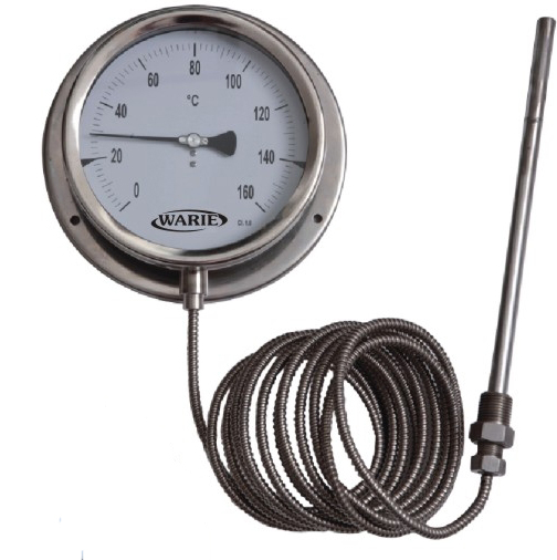 Thermocouple Pressure Gauge : Rji warie instruments pvt ltd