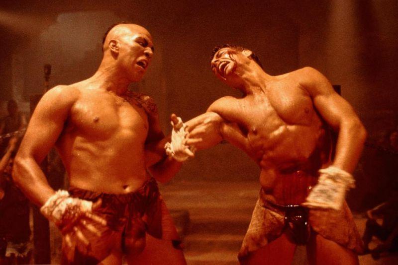 Duelos del Cine.: JEAN CLAUDE VAN DAMME VS. TONG PO.