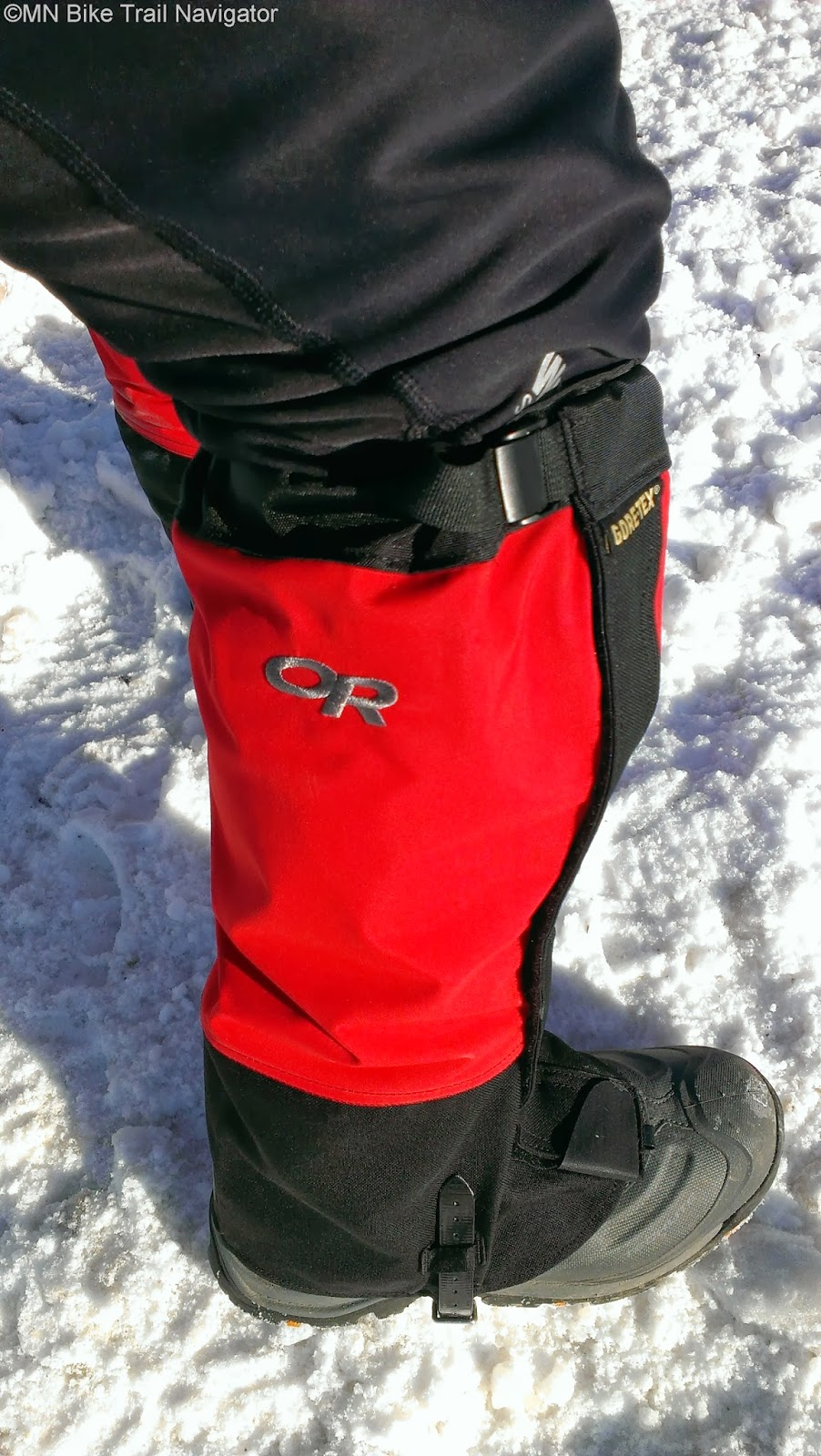Mn Bike Trail Navigator Gaiters For The Winter Bike Commuter Or