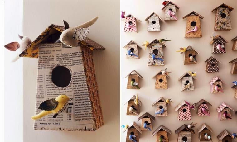 Птицы для декора своими руками 708