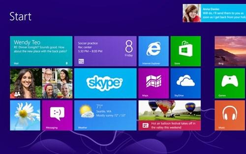 Windows 8 Professional Screenshot