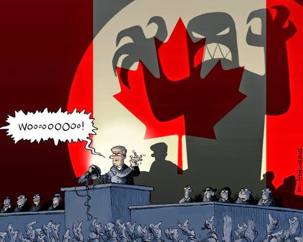 David Parkins: Stephen Harper scare tactics.