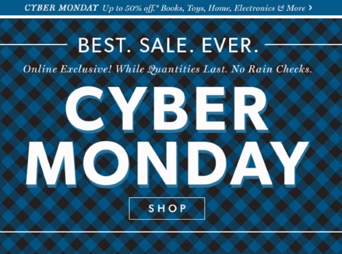 Chapters Indigo Cyber Monday Up To 50% Off Books, Toys, Home, Electronics