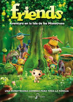 Friends: Aventura en la isla de los monstruos Poster