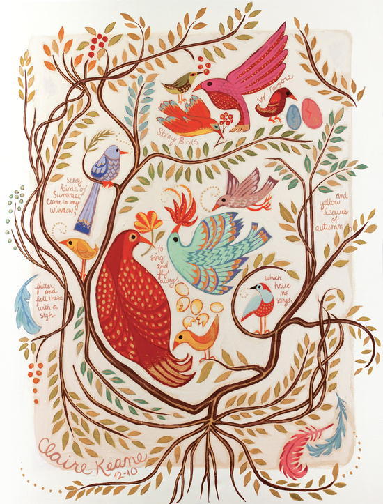 Stray Birds by Claire Keane