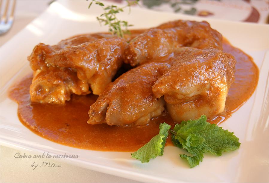 Manitas de cerdo en salsa cocinar en casa es for Cocinar manitas de cerdo