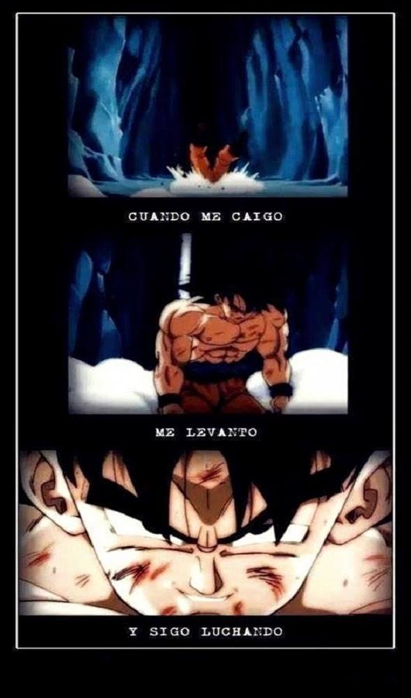 Goku y su grán motivación