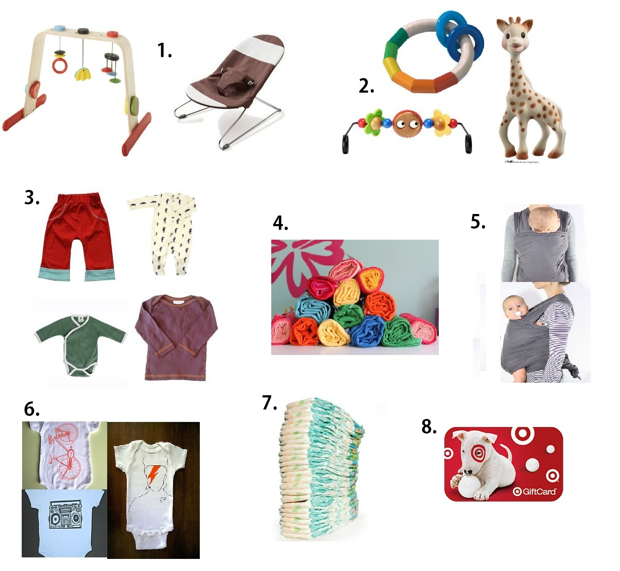 Baby Gifts For Gender Neutral : Gnome sweet gender neutral baby gifts