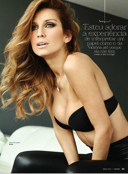 Fotos Andreia Teles Revista Maxim Maio 2013