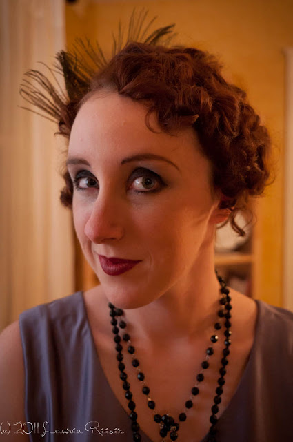 American Duchess: 1920s Flapper Hairstyle Tutorial + Halloween ...