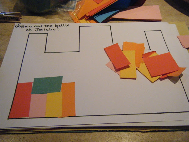 Joshua And The Walls Of Jericho Craft For Preschool