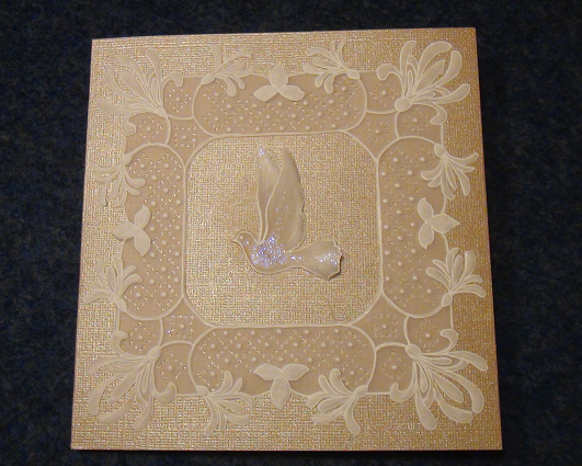 Sandras Crafts First Holy Communion Parchment Paper Card