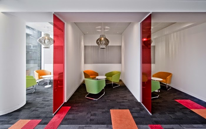 Hitachi London Office Design | Hot Furnishings and Interiors