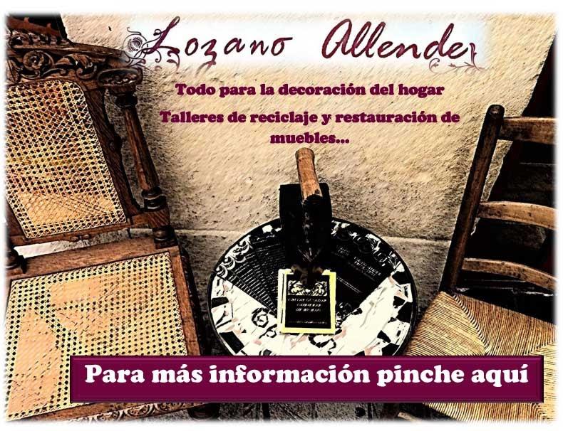 Pagina web lozano allende decoraciones