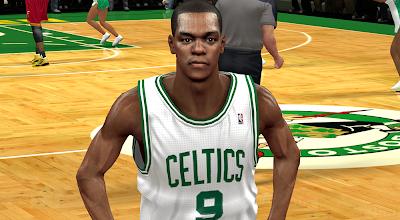 NBA 2K14 Rajon Rondo Face Mod