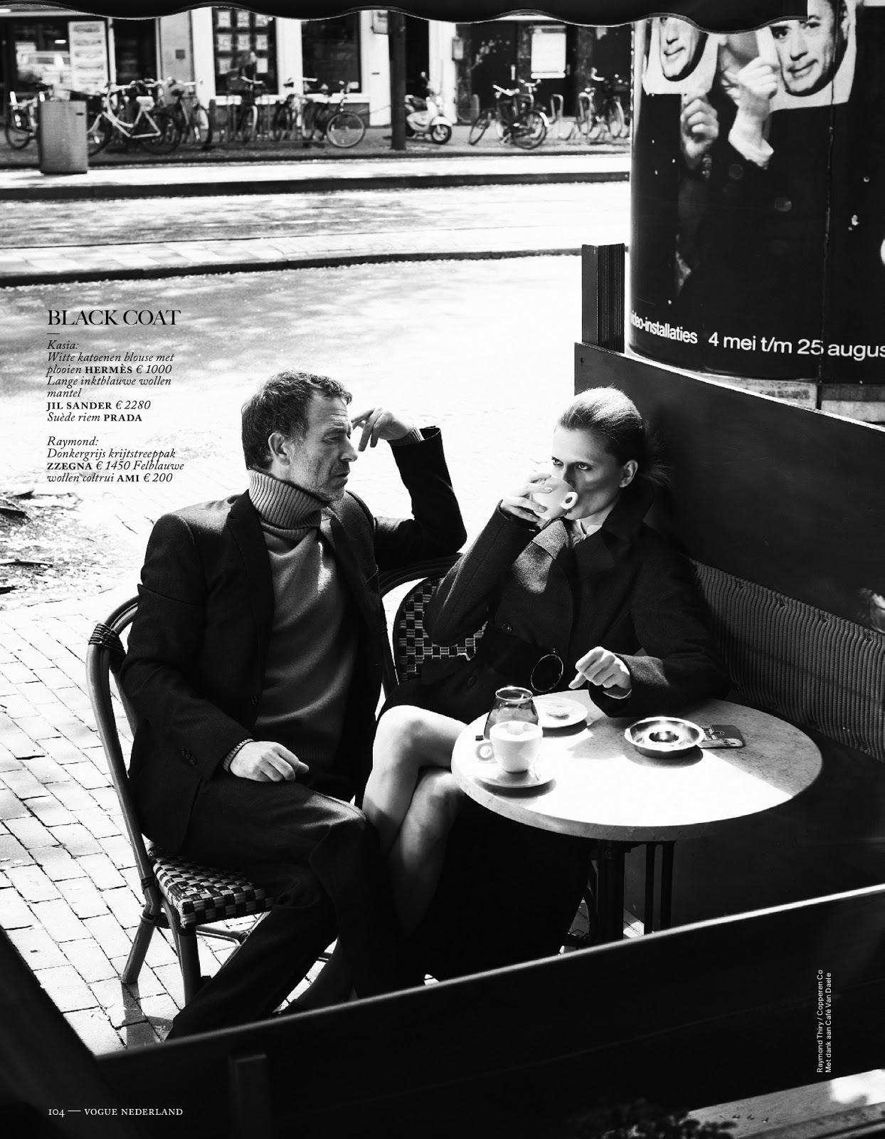 Fashion forward kasia struss by philippe vogelenzang for vogue netherlands august 2013 visual for Adrien harper watches