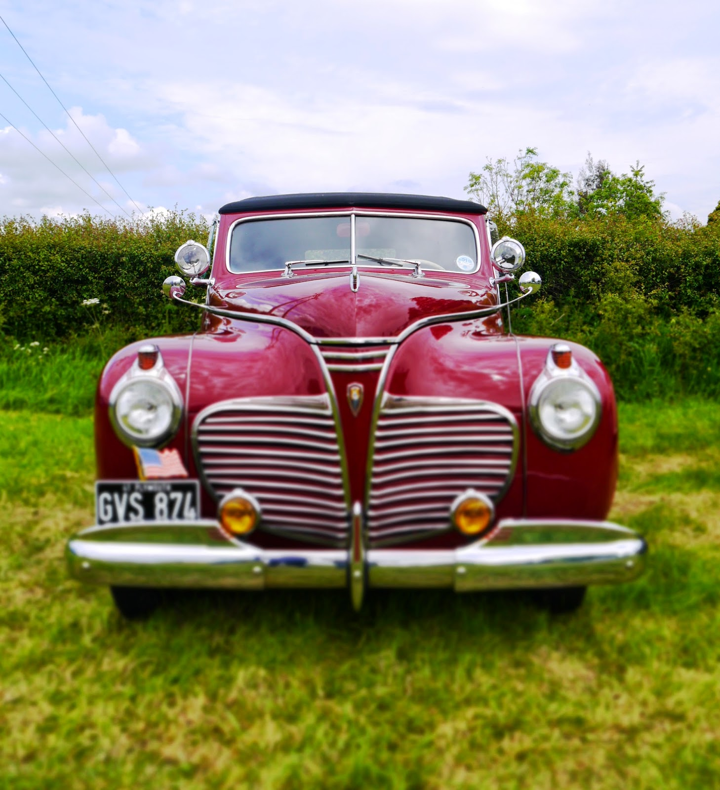 Vintage Cars at Selwood Steam Rally