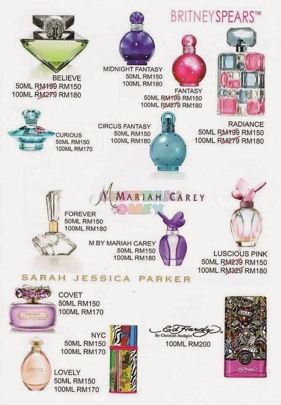 Mariah Carey Fantasy Perfume