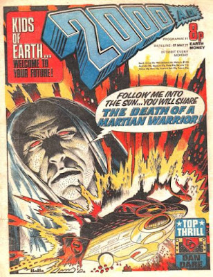 2000AD #11, Martian Warrior