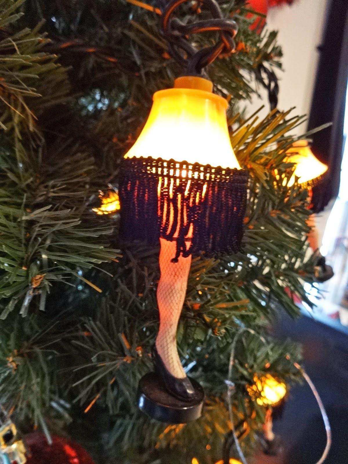 Leg Lamp String Lights : Jax Stumpes: A Christmas Story House (3/15/2014)