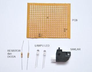 Cara Merangkai Lampu LED Untuk Modif Motor