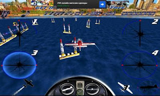 Screenshots of the Skybox Air Race Free Flight for Android tablet, phone.