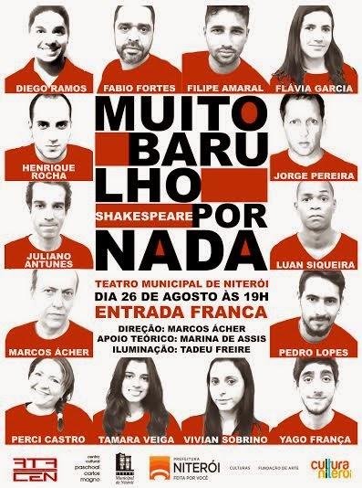 Dia 26, no Municipal de Niterói.