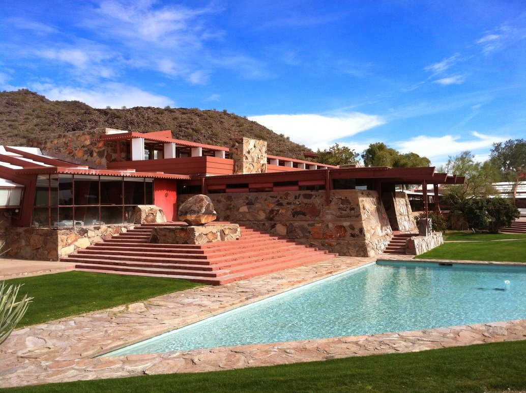Art Now and Then: Taliesin West