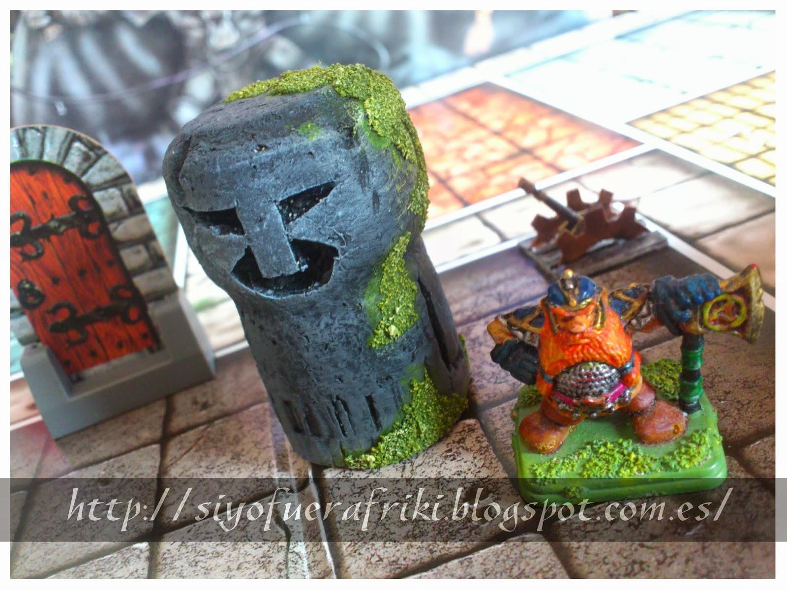 Si yo fuera friki...: Escenografía fácil: Estatua, guardián de piedra