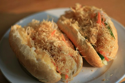 Banh Mi Vietnam (Traditional Vietnamese Bread Food)