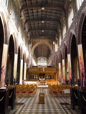 Interior de la Catedral de Manchester
