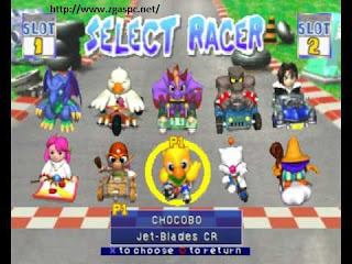 Download Chocobo Racing PSX ISO Full Version For PC Free zgaspc